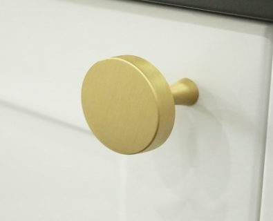 Oliver Vanity Round Handle 35mm (Brushed Brass)>