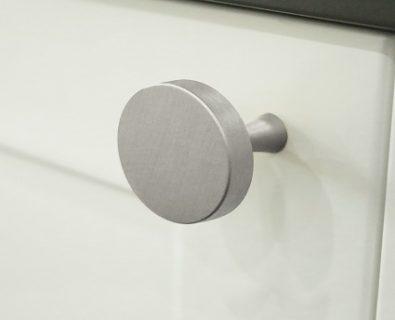 Oliver Vanity Round Handle 35mm (Brushed Nickel)>