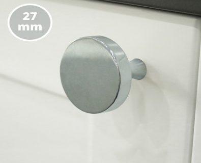 Oliver Vanity Round Handle 27mm (Chrome)>
