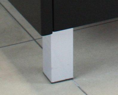 Set of 4 Square Vanity Legs>