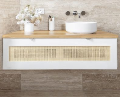 Beechmont Wall Hung Vanity Matte White 1200mm>
