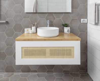 Beechmont Wall Hung Vanity Matte White 900mm>