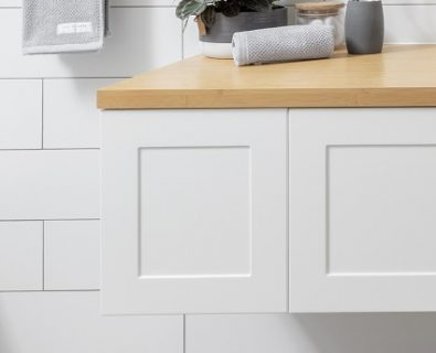Boston Wall Hung Vanity Matte White 300mm>