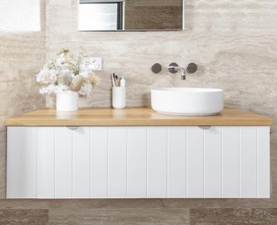 Venice Wall Hung Vanity Matte White 1200mm>
