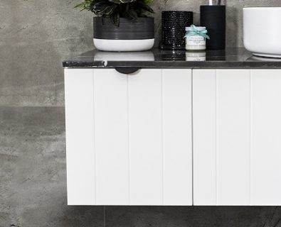 Venice Wall Hung Vanity Matte White 300mm>