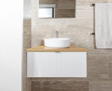 Venice Wall Hung Vanity Matte White 600mm>