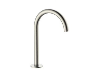 Spin Round Basin/Bath Hob Spout (Brushed Nickel)>