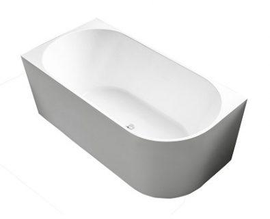 Estelle Freestanding Corner Bath LHS 1500mm>