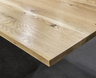 MADERA Solid White Oak Timber Vanity Top 1200mm>