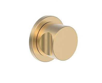 SPIN In Wall Separate Diverter Kit Brushed Brass>