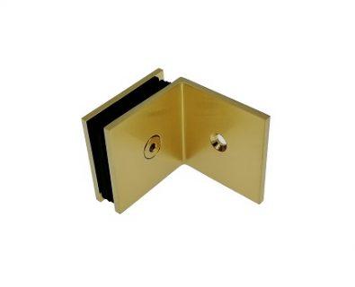 Shower Panel Wall Bracket Brushed Brass>
