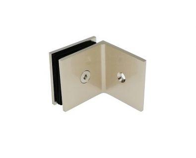 Shower Panel Wall Bracket Brushed Nickel>