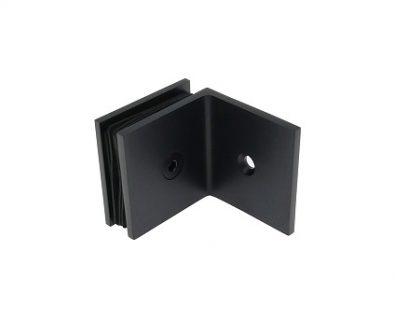 Shower Panel Wall Bracket Matte Black>