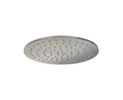 Monsoon Round Shower Head 250mm (Brushed Nickel)>